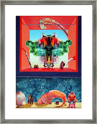 Bogomils Ceremonial Stage Framed Print by Otto Rapp