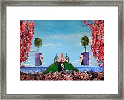 Bogomils Monastic Retreat Framed Print by Otto Rapp