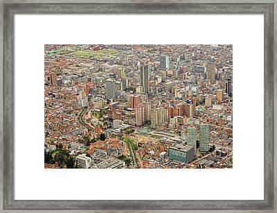 Bogota City Center Framed Print