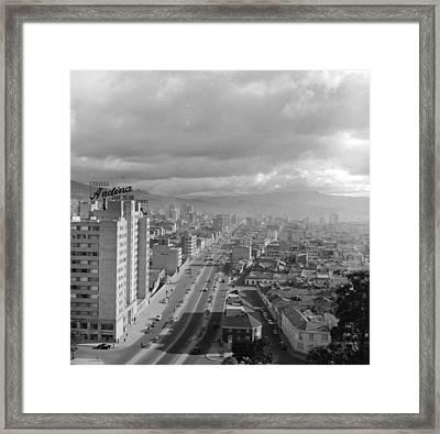 Bogota Framed Print by Evans