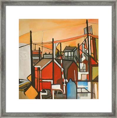 Bogota Industrial Framed Print
