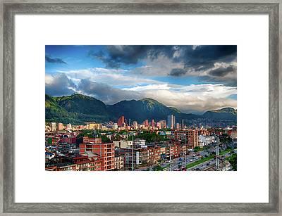Bogota Framed Print