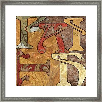 Bohemian Faith Framed Print by Debbie DeWitt
