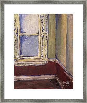 Bohemian Gallery, January 2007 Framed Print by Joseph A Langley