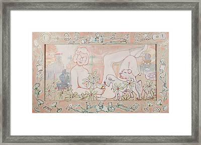 Bohemian Grove Bar Framed Print