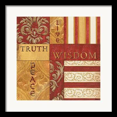 Religious Text Framed Prints