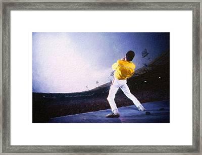 Bohemian Rhapsody Framed Print by Vincent Monozlay