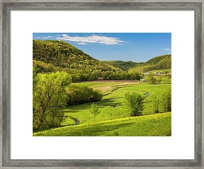 Bohemian Valley Framed Print