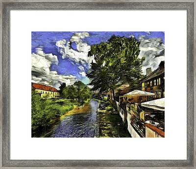 Bohemian Village Framed Print