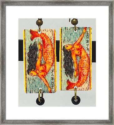 Boho Mermaid Framed Print by Patti Siehien