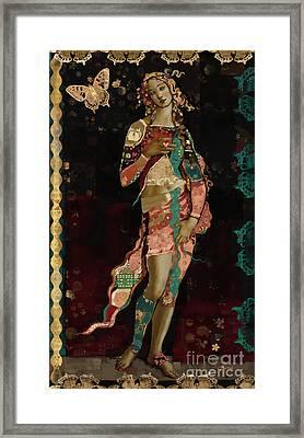 Boho Venus Framed Print