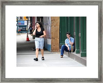 Framed Print featuring the photograph Boi by JoAnn Lense