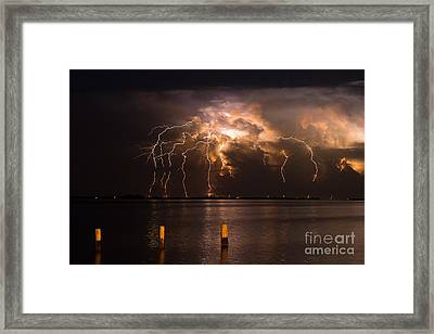 Boiling Energy Framed Print