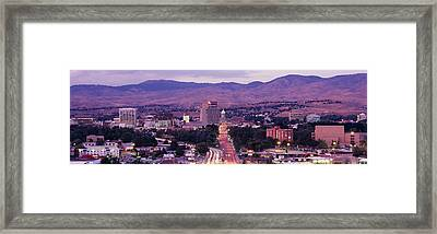 Boise Id Framed Print by Panoramic Images