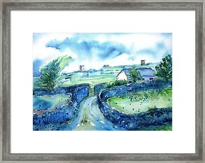 Boithrin Inisheer Framed Print by Trudi Doyle