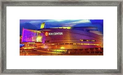 Bok Center - Tulsa Oklahoma Downtown Framed Print by Gregory Ballos