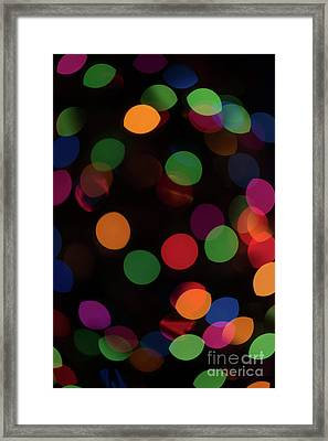 Bokeh Lights 9222914 Framed Print by Ian McGregor