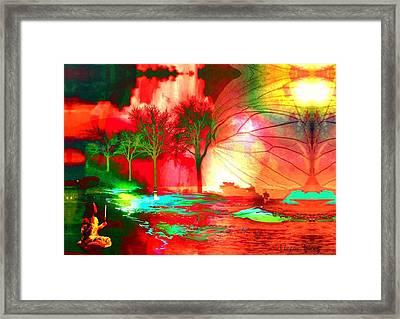 Bold And Beautiful Fantasy Framed Print