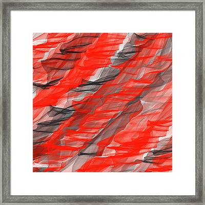 Bold And Dramatic Framed Print by Lourry Legarde