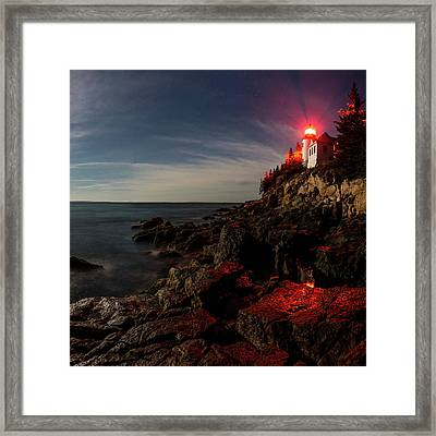 Bold Beacon Framed Print by Brent L Ander
