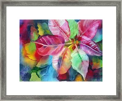 Bold Bloom Framed Print by Maritza Bermudez