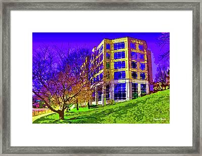Bold Facade Framed Print