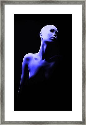 Bold Girl Framed Print by Steve K