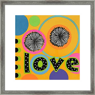 Bold Love Framed Print