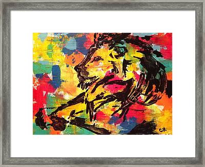 Framed Print featuring the painting Boldness by Chris Rice