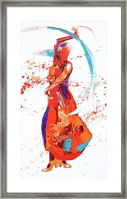 Bolero Framed Print by Penny Warden