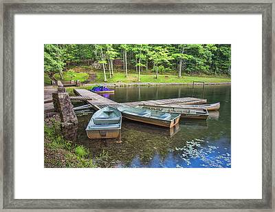 Boley Lake Framed Print