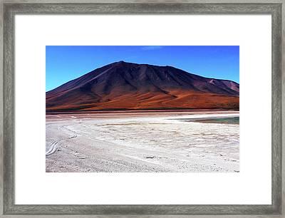 Bolivian Altiplano, South America Framed Print by Aidan Moran