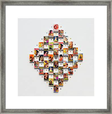 Bollywood On A Mathbox 2 Framed Print