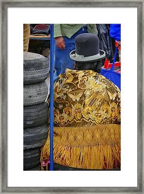 Bolo Framed Print