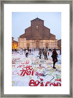 Bologna Cathedral Framed Print by Andre Goncalves