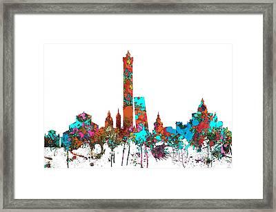 Bologna Italy  Skyline  Framed Print by Marlene Watson