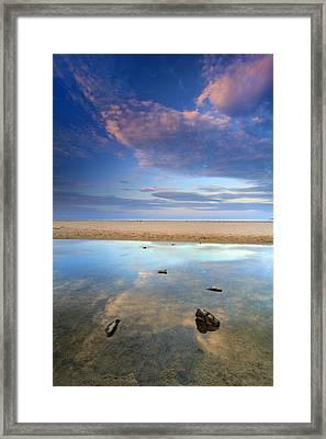 Bolonia Beach Framed Print