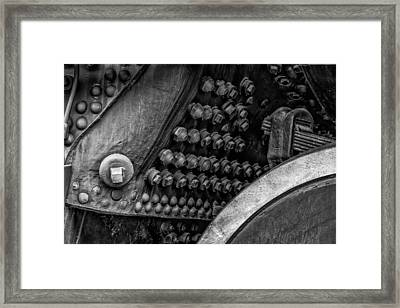 Bolts Framed Print by James Barber
