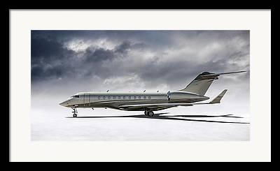 Private Jet Framed Prints