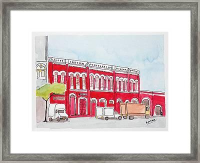 Bombay Samachar  Framed Print