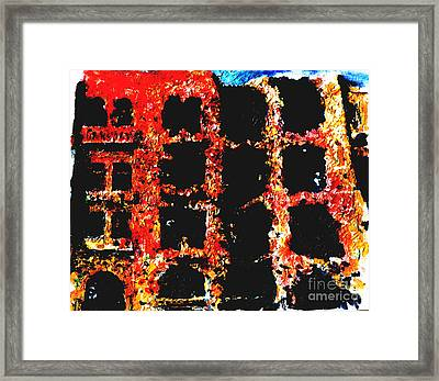 Bombed Out  Framed Print by Andy  Mercer