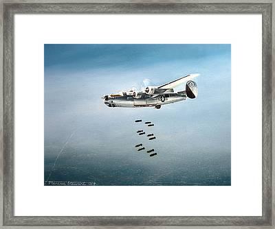 Bombs Away Framed Print by Marc Stewart