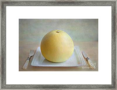 Framed Print featuring the photograph Bon Appetit by Aiolos Greek Collections