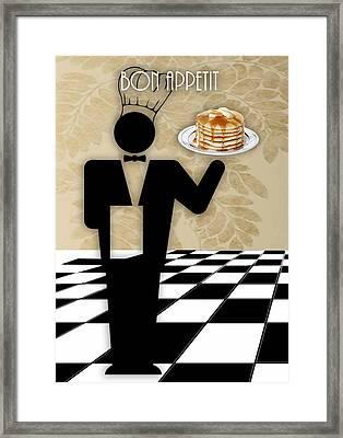 Bon Appetit Art Framed Print