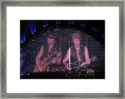 Bon Jovi Framed Print