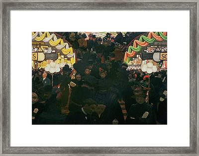 Bon Marche 1898 Framed Print by Felix Edouard Vallotton