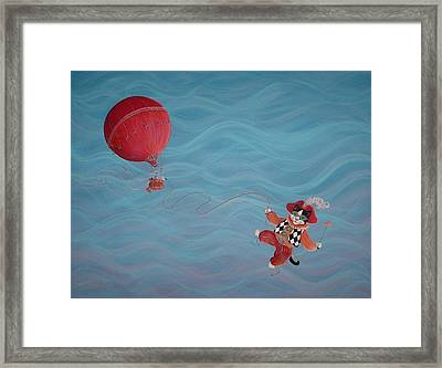 Bon Voyage Framed Print by Dee Davis