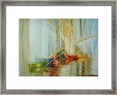 Bon Voyage Framed Print by Fatima Stamato