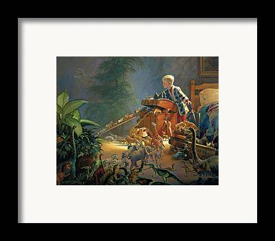 Bon Voyage Framed Print by Greg Olsen