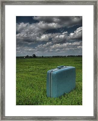 Bon Voyage Framed Print by Jane Linders